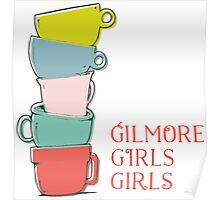 Gilmore girls-coffee Poster
