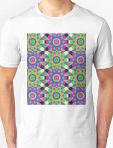 Psychdelic kaleidoscope Unisex T-Shirt