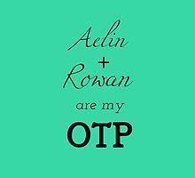 Aelin + Rowan are my OTP by yafictionfan
