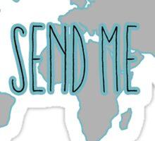 Send Me - Mission Trip Sticker