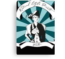 Radical Style Pirate Steampunk Canvas Print