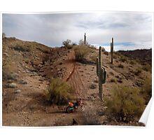 Desert Dirt Bike Poster