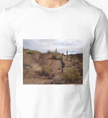 Desert Dirt Bike Unisex T-Shirt