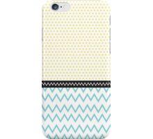 Geometric Pattern - Sun and Sea iPhone Case/Skin