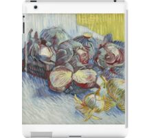 Vincent Van Gogh - Red cabbages and onions, October 1887 - November 1887 iPad Case/Skin