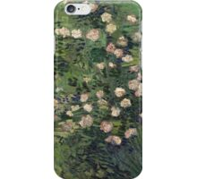 Vincent Van Gogh - Roses, 1889 iPhone Case/Skin