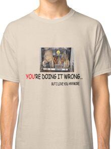 wrong1 Classic T-Shirt