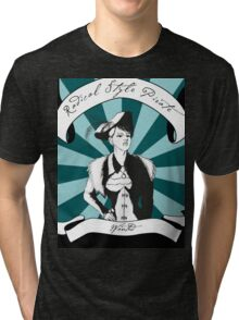 Radical Style Pirate Steampunk Tri-blend T-Shirt