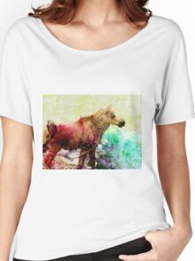 Baby Moose Women's Relaxed Fit T-Shirt