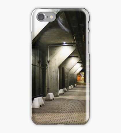 Concrete shadows iPhone Case/Skin