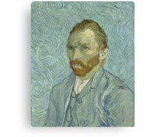 Vincent Van Gogh - Self-Portrait 2, 1889 Canvas Print