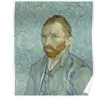 Vincent Van Gogh - Self-Portrait 2, 1889 Poster