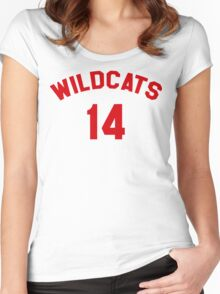 High School Musical: Wildcats Red Women's Fitted Scoop T-Shirt