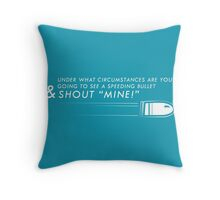 Call For It Throw Pillow