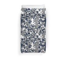 Blue & Gray Camo Design #2 Duvet Cover