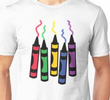 Messy Crayons Unisex T-Shirt
