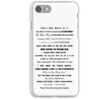 I Do Geek - Version 1 iPhone Case/Skin