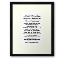 I Do Geek - Version 1 Framed Print