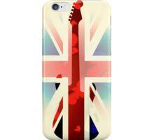 British Guitar Fender iPhone Case/Skin
