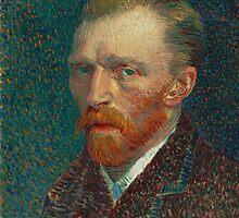 Vincent Van Gogh - Self-Portrait, 1887 by famousartworks