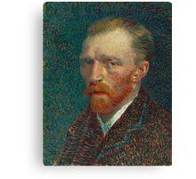 Vincent Van Gogh - Self-Portrait, 1887  Impressionism Canvas Print