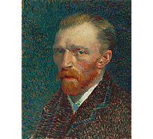 Vincent Van Gogh - Self-Portrait, 1887  Impressionism Photographic Print