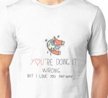 wrong 3 Unisex T-Shirt