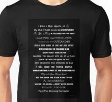 I Do Geek - Version 1 B&W Unisex T-Shirt