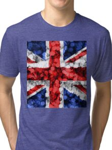 UK British Flag / Union Jack Tri-blend T-Shirt