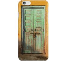 Green Door  iPhone Case/Skin