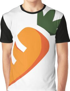 Cute Carrot Graphic T-Shirt