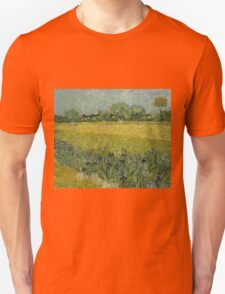 Vincent Van Gogh - Field with Flowers near Arles, 1888 Unisex T-Shirt