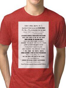 I Do Geek - Version 2 Tri-blend T-Shirt