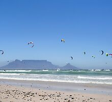 Kitesurfing Cape Town, South Africa by SeeOneSoul