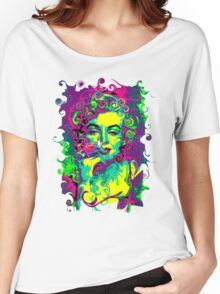 GAUDY AMERICANA - blonde bombshell Women's Relaxed Fit T-Shirt
