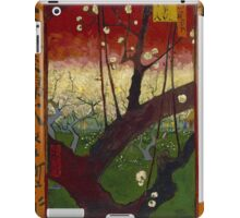 Vincent Van Gogh - Flowering plum orchard after Hiroshige, 1887 iPad Case/Skin