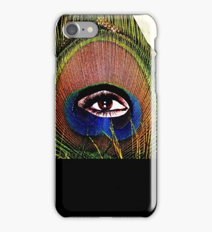 """""""Eye of the Feather""""  iPhone Case/Skin"""