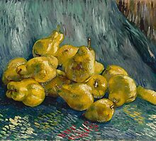 Vincent Van Gogh - Still Life with Quinces, 1888 - 1889 by famousartworks