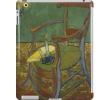 Vincent Van Gogh - Gauguin's chair, 1888 iPad Case/Skin