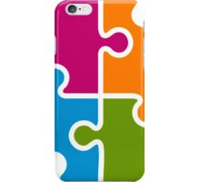 Hipster Puzzle Cool T-Shirts iPhone Case/Skin