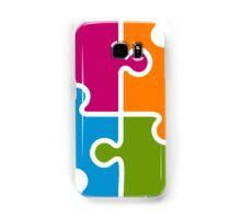Hipster Puzzle Cool T-Shirts Samsung Galaxy Case/Skin