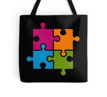 Hipster Puzzle Cool T-Shirts Tote Bag
