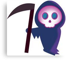 Cute Grim Reaper Canvas Print