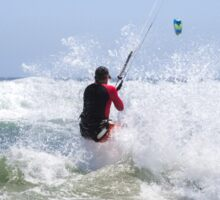 Riding Wind & Waves to Glory Sticker