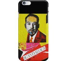"""""""Langston Hughes - Scandalous""""  iPhone Case/Skin"""