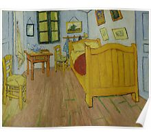 Vincent Van Gogh - The bedroom, October 1888 , Impressionism Poster