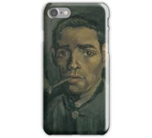 Vincent Van Gogh - Head of a man, November 1884 - February 1885 iPhone Case/Skin