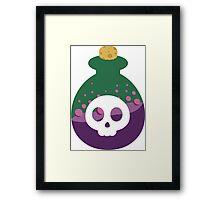 Cute Poison Bottle Framed Print