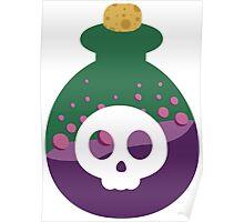 Cute Poison Bottle Poster