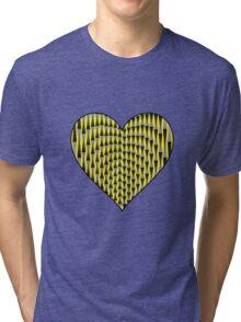 Up & Down Heart Tri-blend T-Shirt